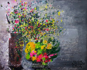 Hoa Mai và ngũ quả/ Peach flowers & fruites
