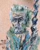 Portrait of Master Artist Constantin Brancusi (1876-1957)