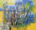 Spring Field (Blue_Yellow),